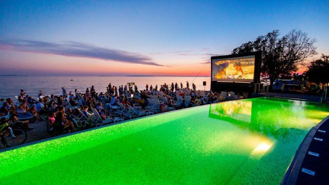 Camping Strasko - open air cinema